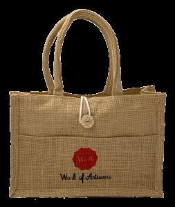 Work of Artisans Free Jute Bag