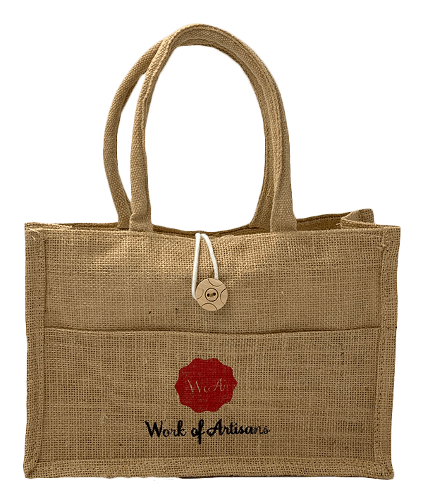 Work of Artisans Free Jute Bag