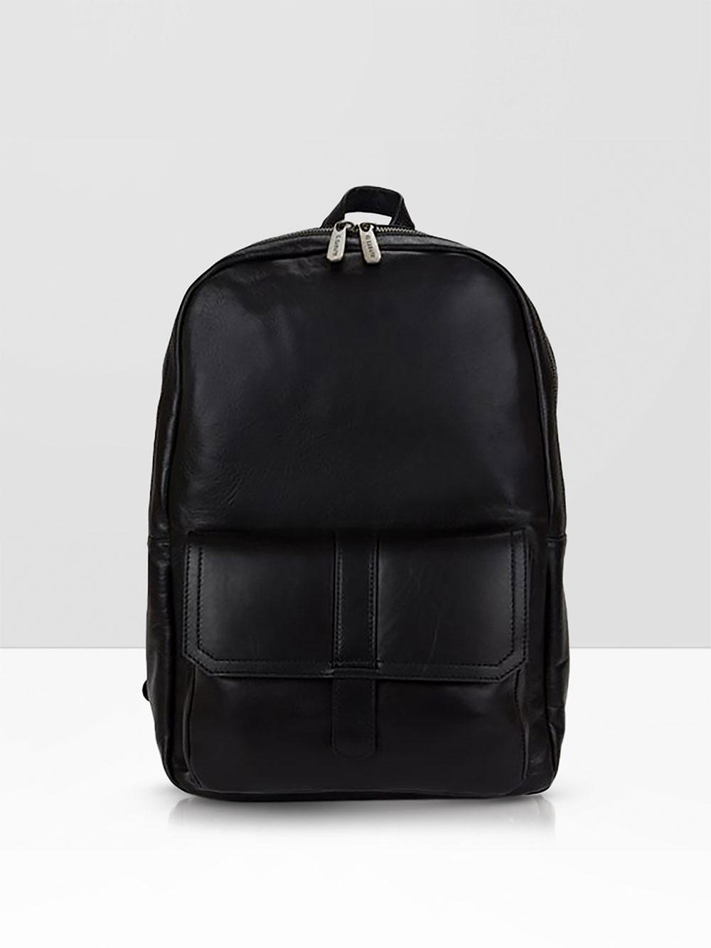 Men's leather backpacks